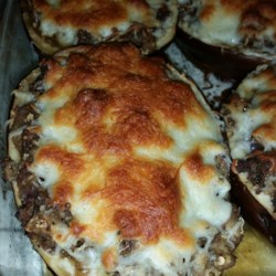 Stuffed Eggplant Parmesan Recipe