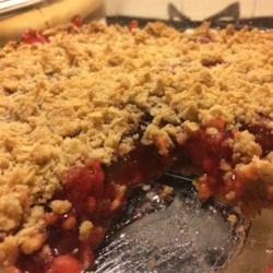 Cherry Crumble Recipe - Allrecipes.com