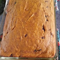 Tina's Pumpkin Spice Bars Recipe