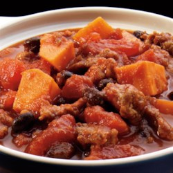 Sausage & Sweet Potato Chili Recipe