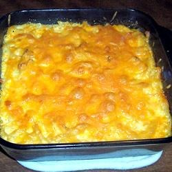 Three Cheese Noodle Bake Recipe
