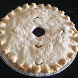Saskatoon Berry (Serviceberry) Pie Recipe