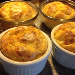 Apple and Cheddar Cheese Souffles Recipe