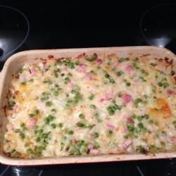 Cheesy Ham Potato Bake Recipe