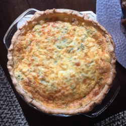 Spinach and Bacon Quiche Recipe