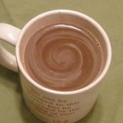 Peanut Buttercup Hot Chocolate