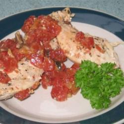 Easy Chicken in Wine Sauce Recipe