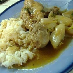 Greek Chicken Stew (Stifado) Recipe