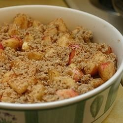 Photo of Homemade Apple Crumble by MELIS1