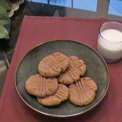 Peanut Butter Cookies -n- Milk