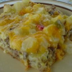 Breakfast Pizza I Recipe