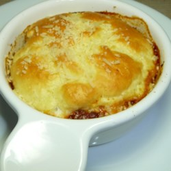 Chicken Parmesan  Pot Pie Recipe