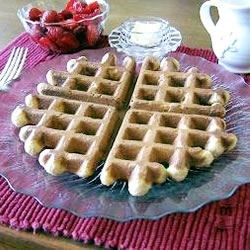 Norwegian Waffles Recipe