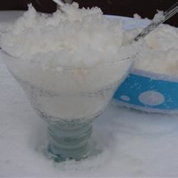 Snow Pudding Recipe