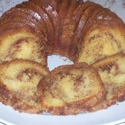 Sour Cream Coffee Cake II Recipe