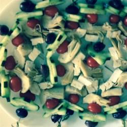 Greek Salad on a Stick Recipe