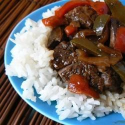 Photo of Maria's Pepper Steak by MARIACOZ