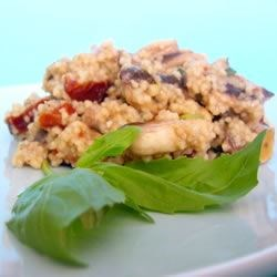 Couscous with Mushrooms and Sun-Dried Tomatoes Recipe