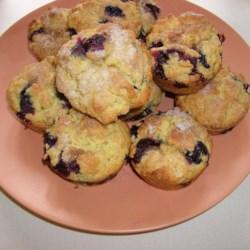 blueberry oat muffins printer friendly