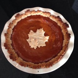 Vanilla Pumpkin Pie Recipe