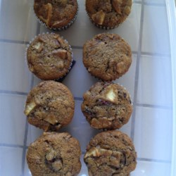 Cranberry Apple Breakfast Muffins