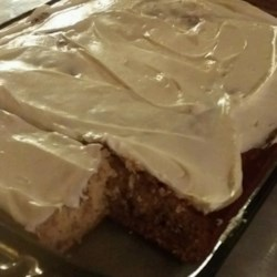 Banana-Nog Cake Recipe