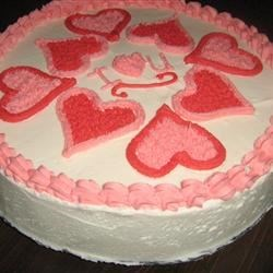 VALENTINE'S DAY BUTTER CAKE