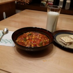 Leftover Turkey Brunswick Stew Recipe