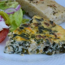 Crustless Quiche Lori-iane