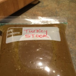 Leftover T-Day Turkey Stock Recipe