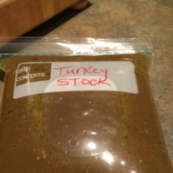 Leftover T-Day Turkey Stock Recipe