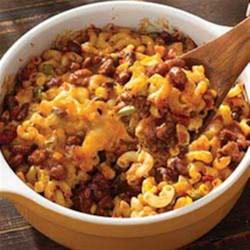 Chili Mac 'n' Cheese Bake Recipe