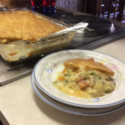 Granny's Easy Turkey Pie Recipe