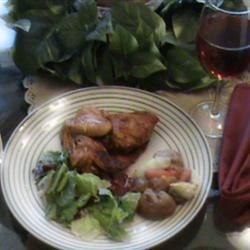 Roast Chicken and Veggies