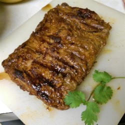 Grilled Chipotle Skirt Steak Recipe