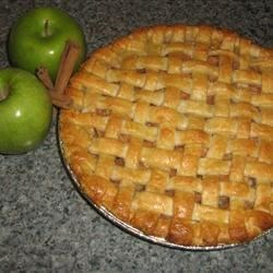 Pat's Rose Apple Pie Recipe