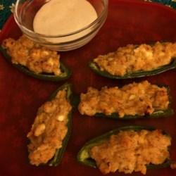 Four Cheese Stuffed Jalapenos Recipe