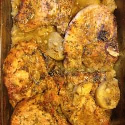 Potato and Pork Bake Recipe