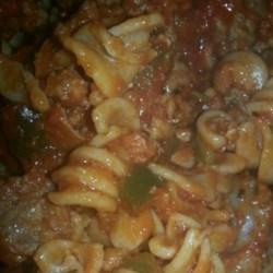Rustic Sausage Pasta Recipe