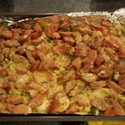 Sausage-Potato Casserole Recipe