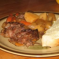 Garlic Top Sirloin Pot Roast |