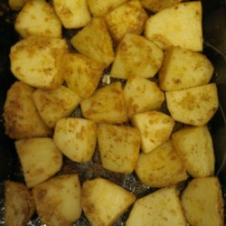 Oven Roasted Parmesan Potatoes Recipe