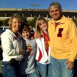 Iowa State Football Game