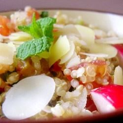 Tomato-Mint Quinoa Salad Recipe