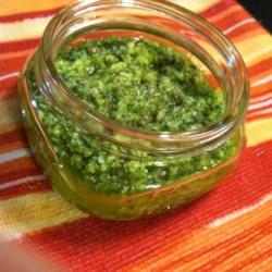 cilantro jalapeno pesto with lime printer friendly