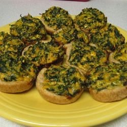 Eggless Tofu Spinach Quiches