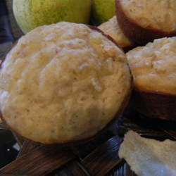 Ginger Pear Muffins Recipe