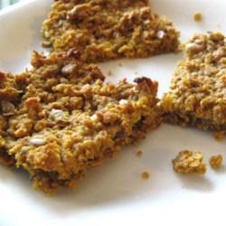Pumpkin Granola Bars Recipe - Allrecipes.com