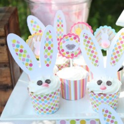 Cute Bunny Cupcakes Recipe