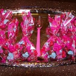 Valentine Chocolate Spoons